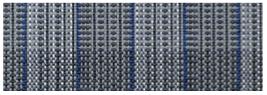 Jolax tenttapijt in lichtgrijs/donkergrijs/blauw